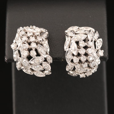 14K 1.24 CTW Diamond Earrings
