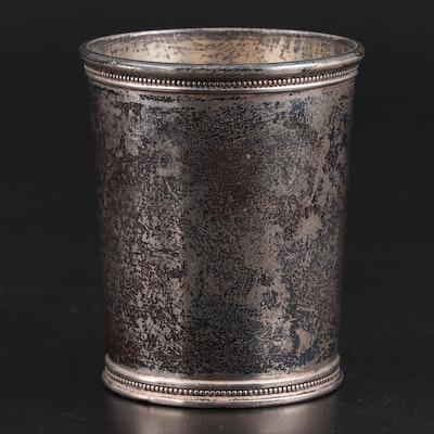 Mark J. Scearce of Kentucky Sterling Silver Julep Cup, 1960s
