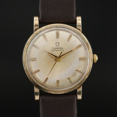 1969 Omega 10K Gold Filled Automatic Wristwatch