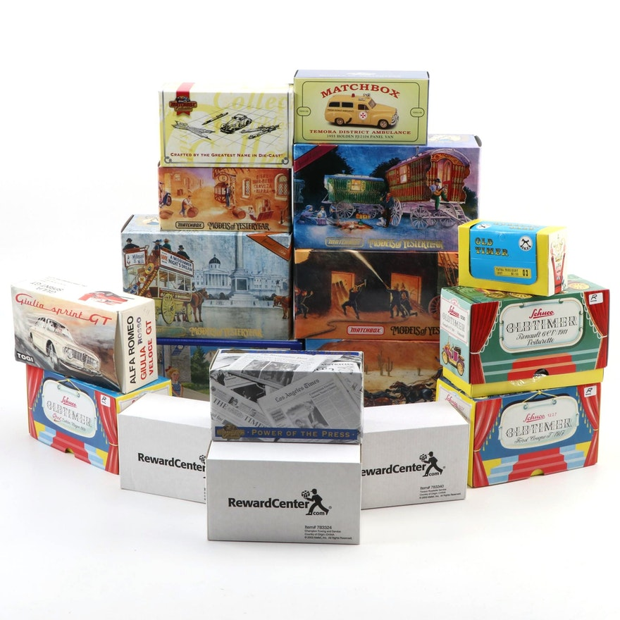 """Matchbox """"Models of Yesteryear"""", Schuco and Other Diecast Vehicles"""