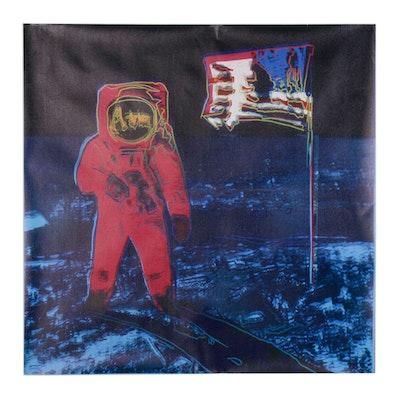 "Giclée after Andy Warhol ""Moonwalk"""