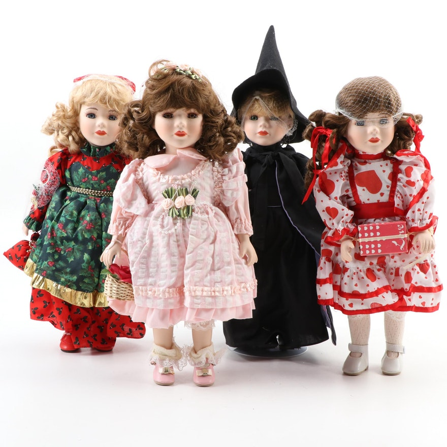 The Heritage Collection Porcelain Dolls