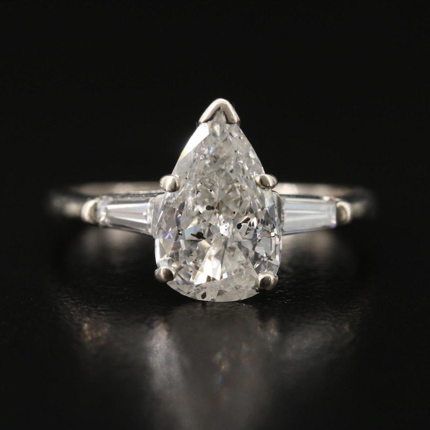 14K 1.82 CTW Diamond Ring