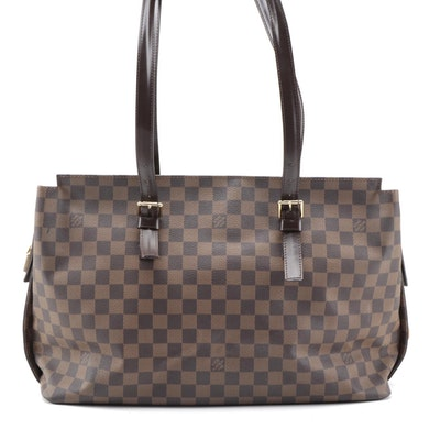 Louis Vuitton Damier Ebene Canvas Chelsea Tote Bag