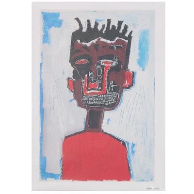 """Giclée after Jean-Michel Basquiat """"Self Portrait, 1984"""""""
