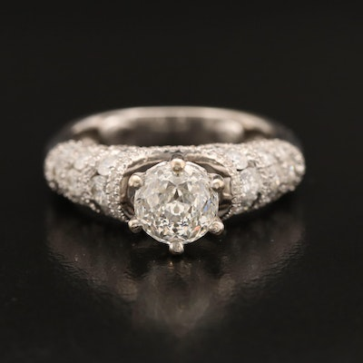 18K 2.48 CTW Diamond Ring