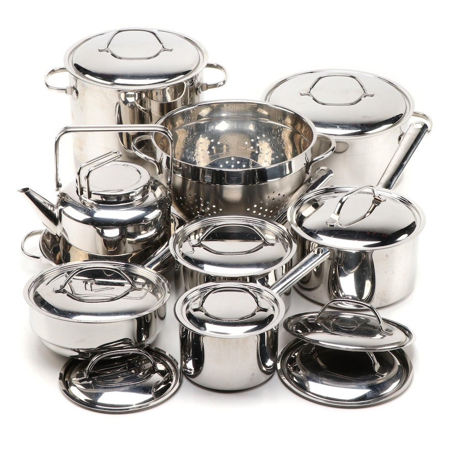 Cuisinart and Other Stainless Steel Sauce Pans, Stock Pots and Cookware