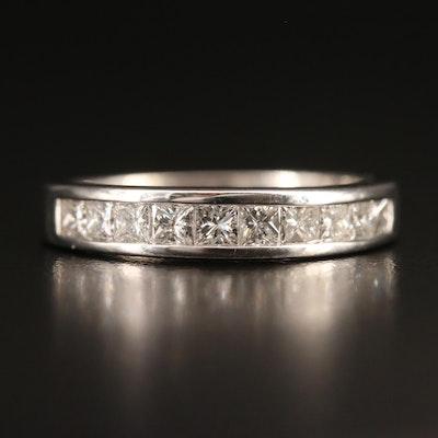 14K Channel Set 1.00 CTW Diamond Ring