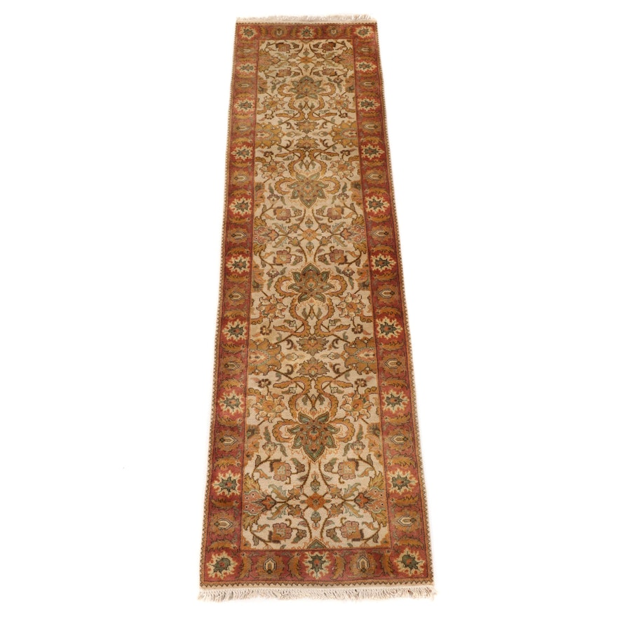 2'8 x 10' Hand-Knotted Persian Wool Carpet Runner
