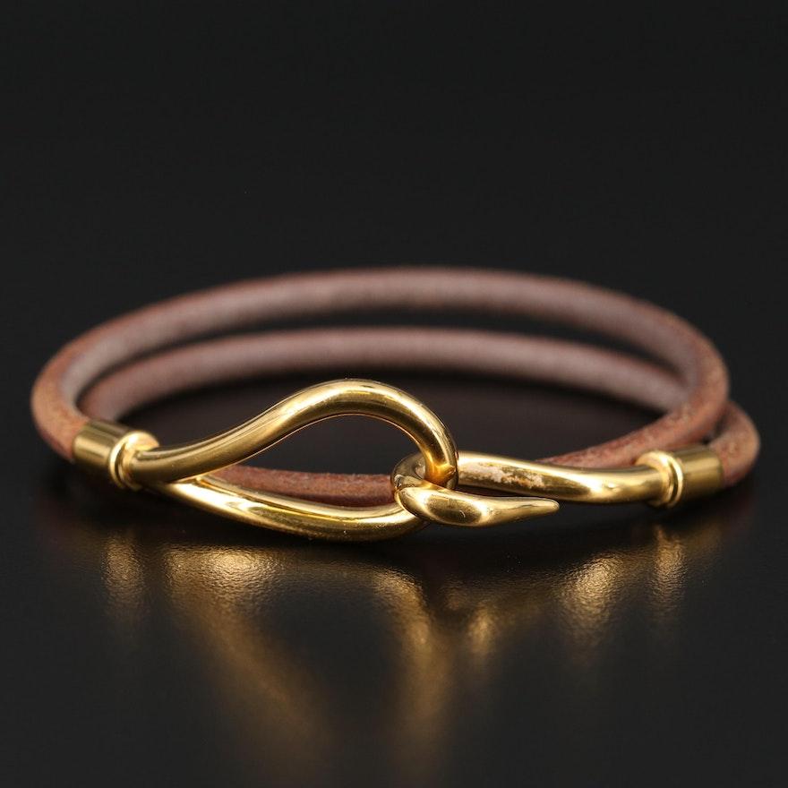 Hermès Jumbo Double Tour Bracelet