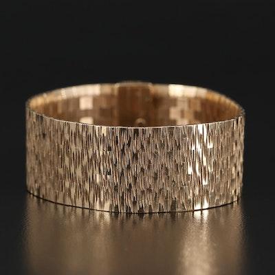 Vintage United Kingdom 9K Bracelet