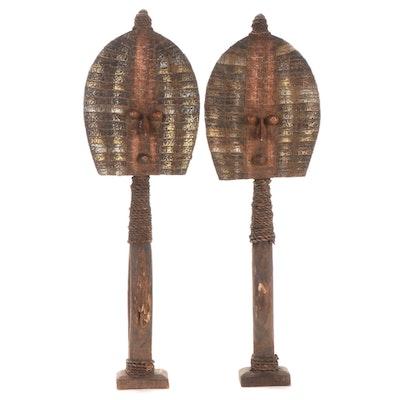Kota-Mahongwe Reliquary Figures, Gabon