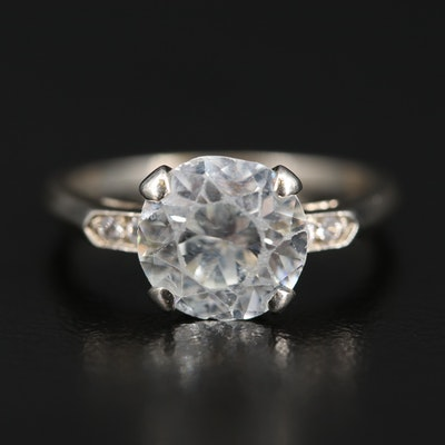 14K Zircon Ring