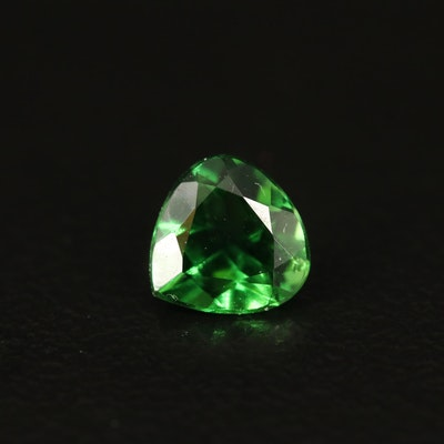 Loose 0.82 CT Trillion Faceted Tourmaline
