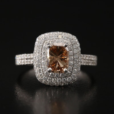 18K 1.80 CTW Diamond Ring