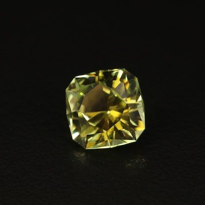 Loose 3.49 CT Square Faceted Tourmaline