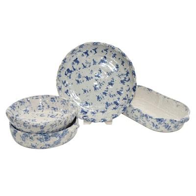 Bybee Pottery Spongeware Bowls
