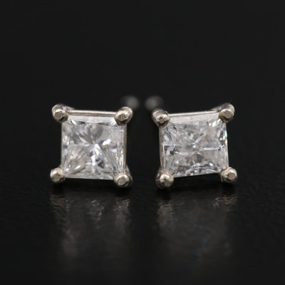 14K Martini Set 0.62 CTW Diamond Stud Earrings