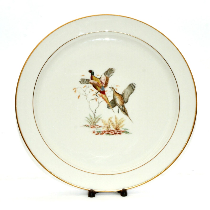 Pickard for Abercrombie & Fitch Porcelain Platter, Mid-20th Century