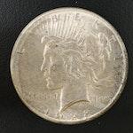 Key Date 1928 Peace Silver Dollar