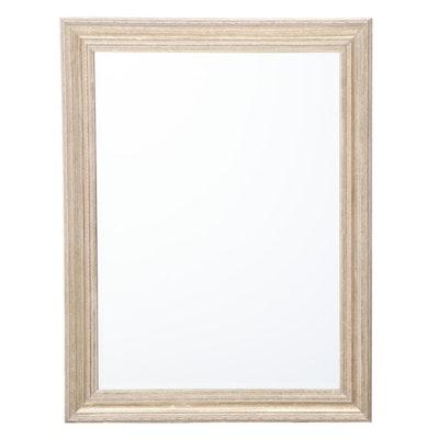 Contemporary Silver Gilt Composite Wall Mirror