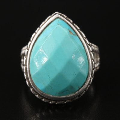 Barse Sterling Turquoise Ring
