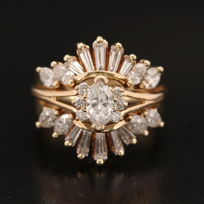 14K 1.58 CTW Diamond Ring