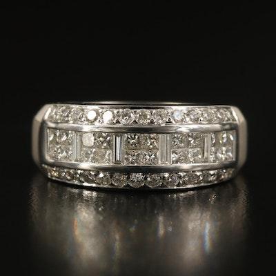 Le Vian 14K 1.25 CTW Diamond Triple Row Ring