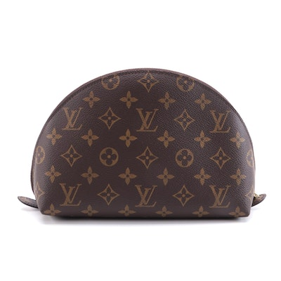 Louis Vuitton Cosmetic Pouch in Monogram Coated Canvas