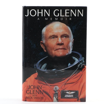 "Signed ""John Glenn: A Memoir"" by John Glenn with Nick Taylor"