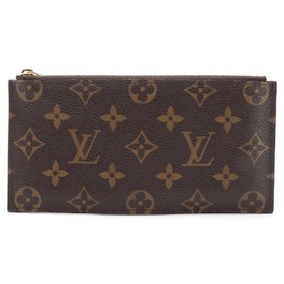 Louis Vuitton Monogram Coated Canvas Zipper Accessory Pouch