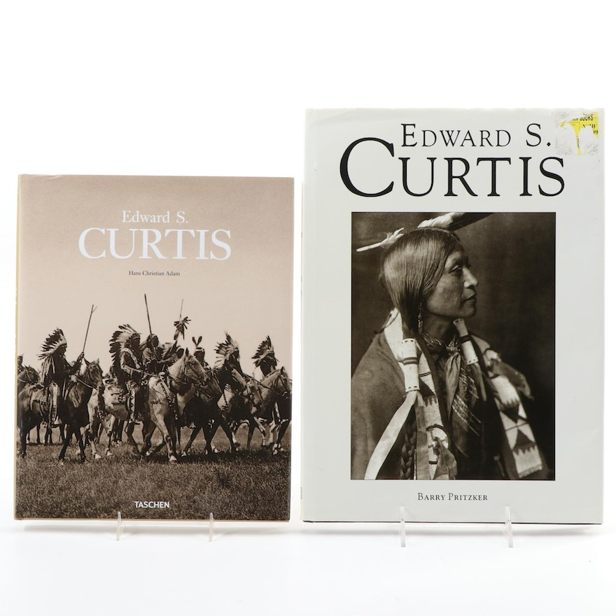 Edward S. Curtis Photography Books