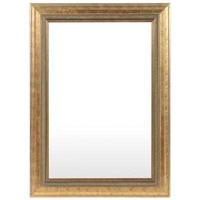Gardner Mirror Corp Rectangular Gilt Frame Wall Mirror, Late 20th Century