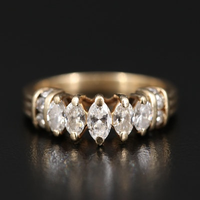 14K 1.06 CTW Diamond Ring