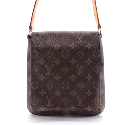 Louis Vuitton Musette Salsa Handbag in Monogram Coated Canvas