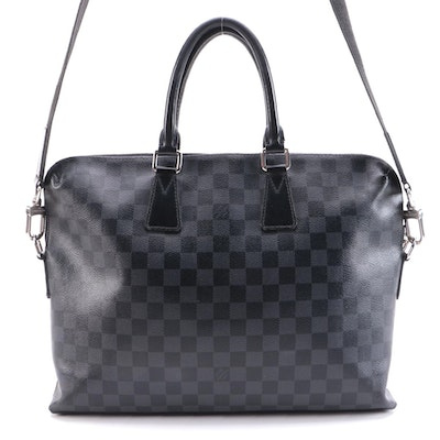 Louis Vuitton Porte-Documents Jour Bag in Damier Graphite