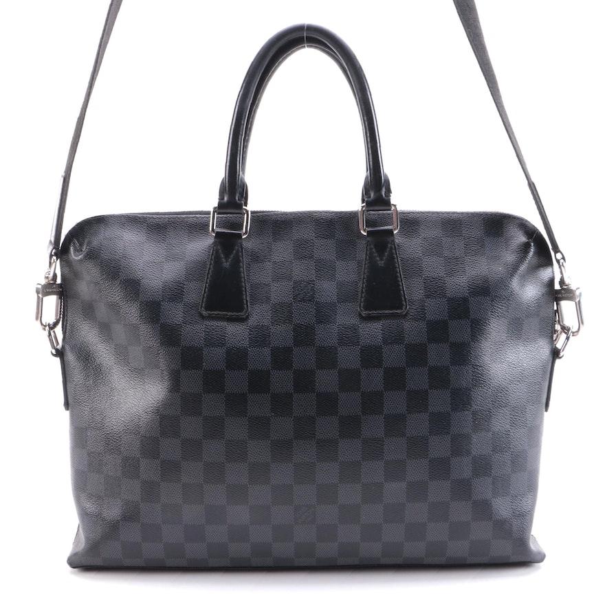 Louis Vuitton Porte-Documents Jour Bag in Damier Graphite