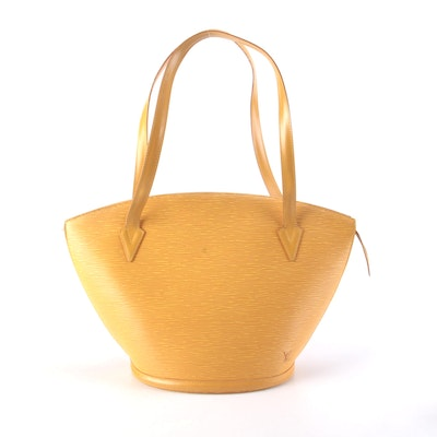 Louis Vuitton St. Jacques Bag in Tassil Yellow Epi Leather