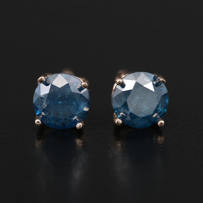 14K 1.02 CTW Diamond Stud Earrings