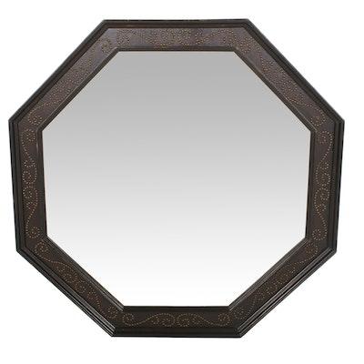 Octagonal Indonesian Wall Mirror