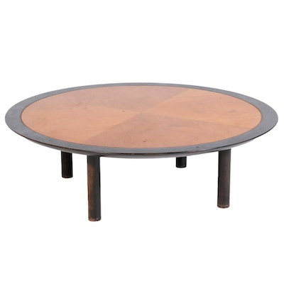 Michael Taylor for Baker Mid Century Modern Round Coffee Table