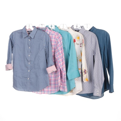 Coldwater Creek, Lands' End, Chaps, Faded Glory and Other Button-Up Shirts