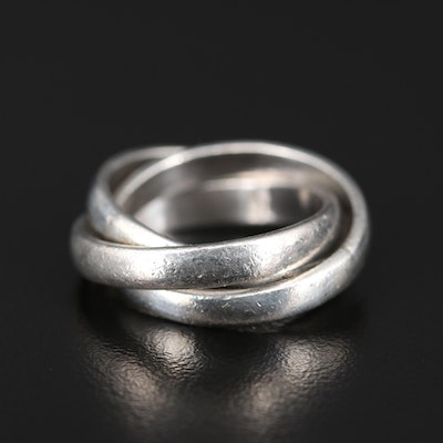 Sterling Rolling Ring