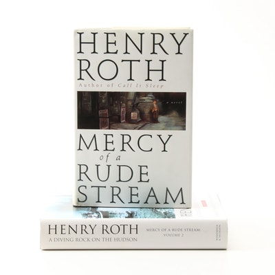 "Signed ""Mercy of a Rude Stream"" Two-Volume Set by Henry Roth"