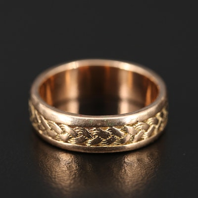 14K Braided Band