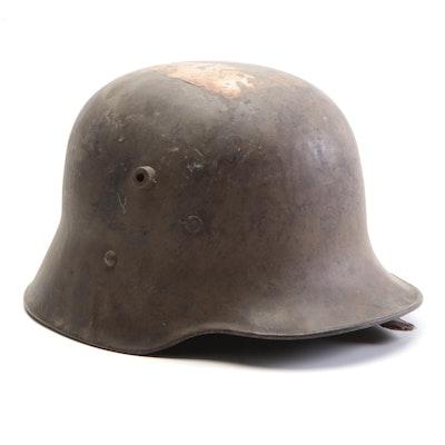 WWI Era Austro-Hungarian M17 Combat Helmet