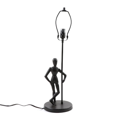 Artist's Mannequin Iron Table Lamp Base