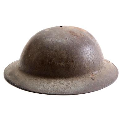 "British Mark I ""Brodie"" Combat Helmet"