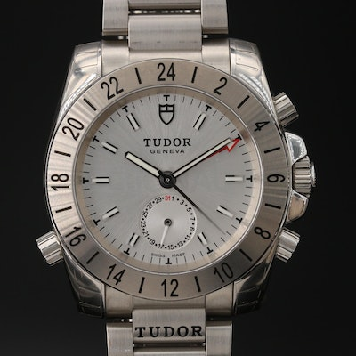 Tudor Aeronaut GMT Stainless Steel Automatic Wristwatch
