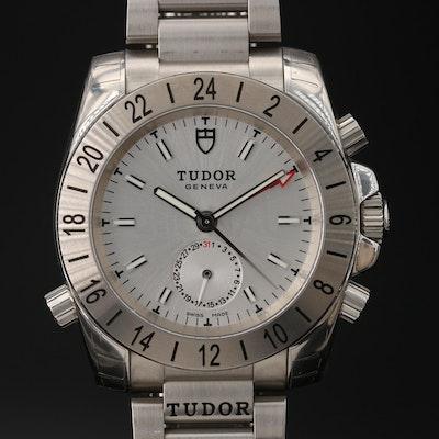 Tudor Aeronaut GMT Stainless Steel Automatic Wristwatch